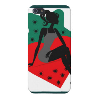 Lady Strawberry iPhone SE/5/5s Cover