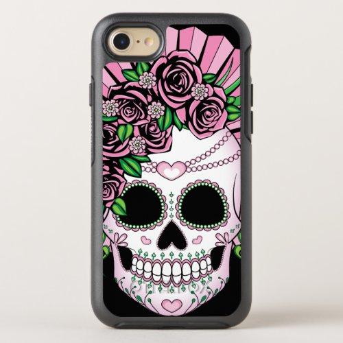 Lady Sugar Skull Phone Case