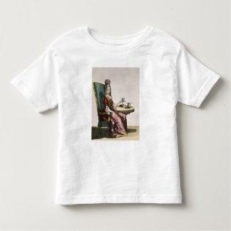 Lady Taking Coffee, fashion plate, c.1695 (engravi Toddler T-shirt