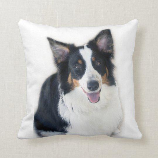 Lady the Australian Shepherd Throw Pillow