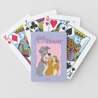 Lady & the Tramp Bicycle Playing Cards