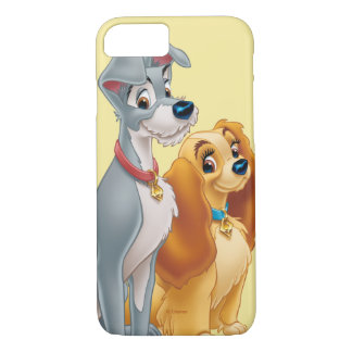 Lady & the Tramp | Classic Pose iPhone 7 Case