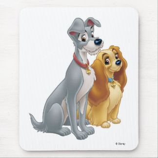 Lady & the Tramp | Classic Pose Mouse Pad