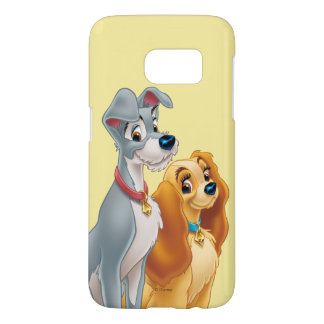 Lady & the Tramp   Classic Pose Samsung Galaxy S7 Case