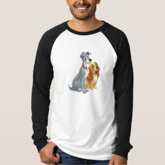 Lady & the Tramp   Classic Pose T-Shirt