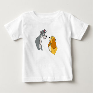 Lady & the Tramp's Lady and Tramp In Love Disney Baby T-Shirt