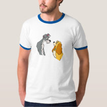 Lady & the Tramp's Lady and Tramp In Love Disney T-Shirt