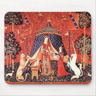 """Lady & the Unicorn"" Mouse Pad"