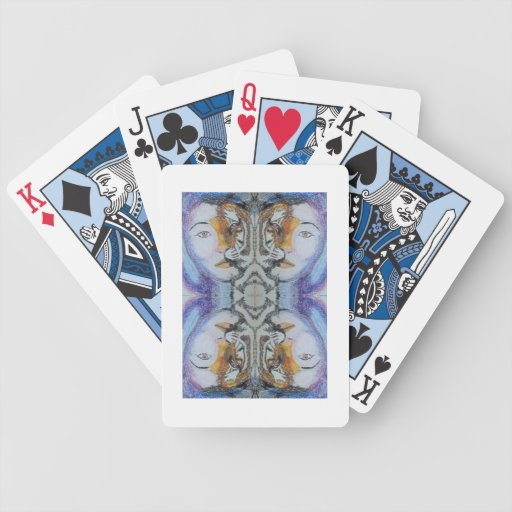 LADY TIGER BICYCLE PLAYING CARDS