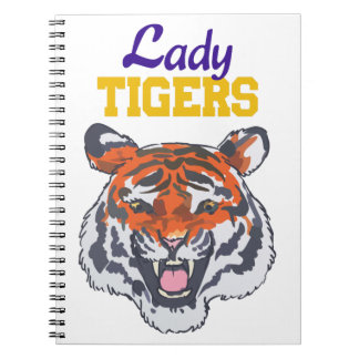 LADY TIGERS NOTE BOOKS