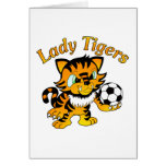 Lady Tigers Soccer Card