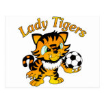 Lady Tigers Soccer Post Card