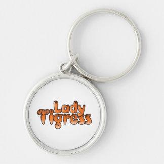 lady tigress keychain