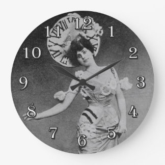 Lady Time Wall Clock