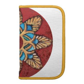 Lady Tjuya Floral Rosette Folio Organizers