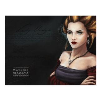 Lady Undya Quest Master Materia Magica Online Game Postcard