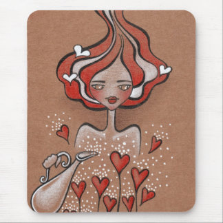 lady valentine mouse pad