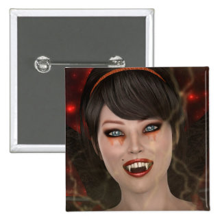 Lady Vamp Button