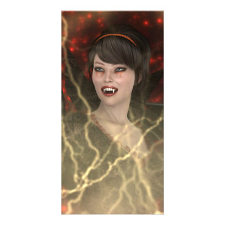 Lady Vamp Card