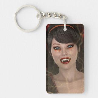 Lady Vamp Keychain