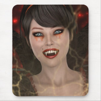 Lady Vamp Mouse Pad