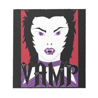 Lady Vamp Note Pad