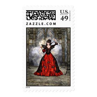 Lady Vamp Postage