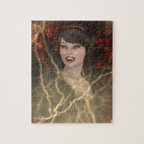 Lady Vamp Puzzle