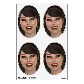 Lady Vamp Wall Decal