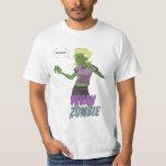 Lady Vegan Zombie T Shirt
