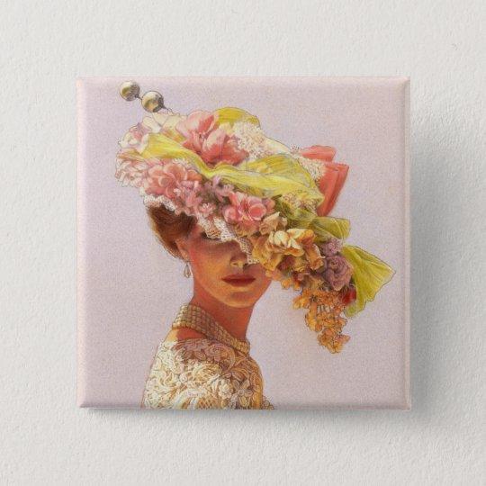 Lady Victoria Pinback Button