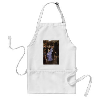 Lady Victorian Traveler Adult Apron
