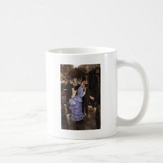 Lady Victorian Traveler Coffee Mug