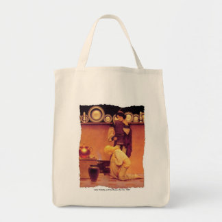 Lady Violetta and the Knave Canvas Bag