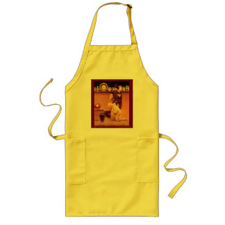 Lady Violetta and the Knave Long Apron