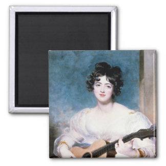 Lady Wallscourt 1825 Fridge Magnet