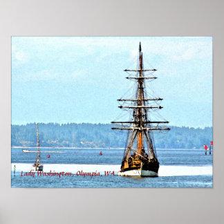 Lady Washington Ship poster