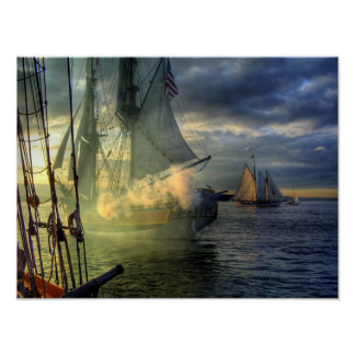 Lady Washington Tall Ship Poster