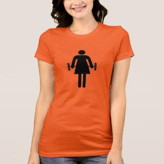 Lady Weight Lifter T-Shirt