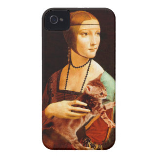 Lady with a Kitten Case-Mate iPhone 4 Case