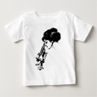 Lady with a microscope baby T-Shirt