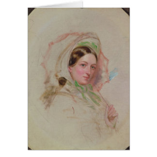 Lady with a Parasol Card