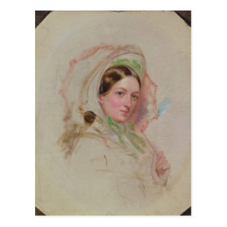 Lady with a Parasol Post Cards