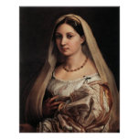 Lady with a Veil Poster