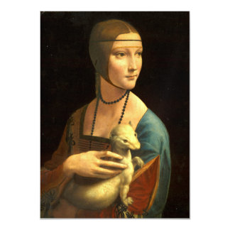 Lady with an Ermine Card