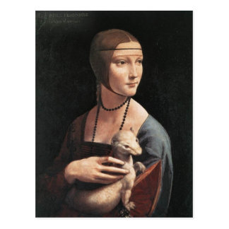 Lady with an Ermine Postcards