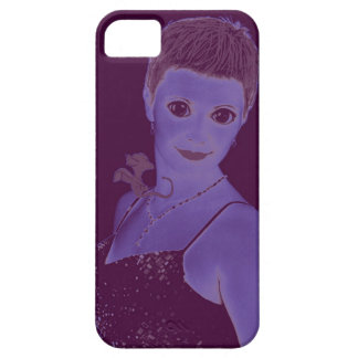 Lady with Baby Dragon iPhone SE/5/5s Case