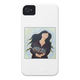 Lady with Basket of Fish. Case-Mate iPhone 4 Cases