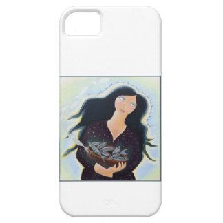 Lady with Basket of Fish. iPhone 5 Covers