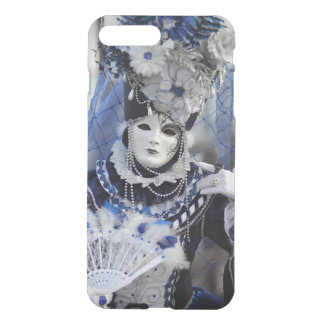 Lady With Blue Costume at The Carnival of Venice iPhone 8 Plus/7 Plus Case